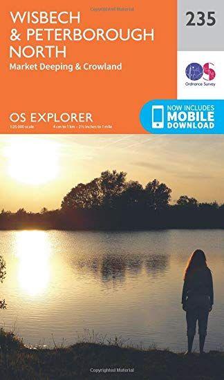 OS Explorer - 235 - Wisbech & Peterborough North