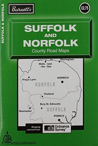 Barnett Suffolk Norfolk Road Map