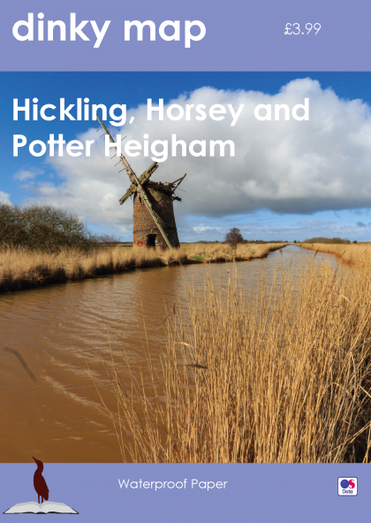 Dinky Map Hickling, Horsey and Potter Heigham