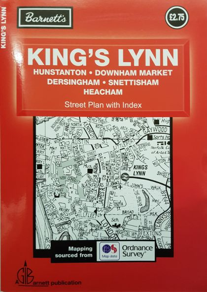 Barnett Kings Lynn Street Plan