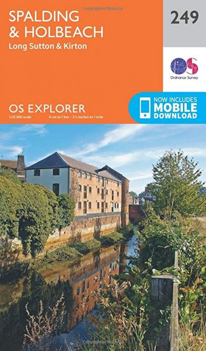 OS Explorer - 249 - Spalding and Holbeach