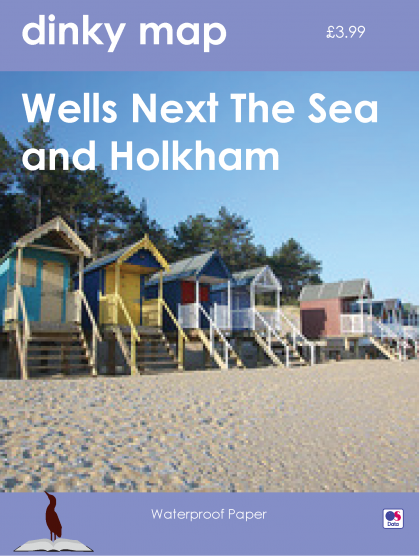 Dinky Map Wells-next-the-Sea and Holkham
