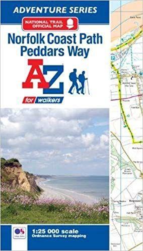 A-Z Adventure Atlas - Norfolk Coast Path / Peddars Way