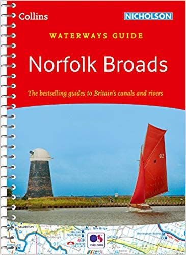 Collins Nicholsons Waterways Guide Norfolk Broads