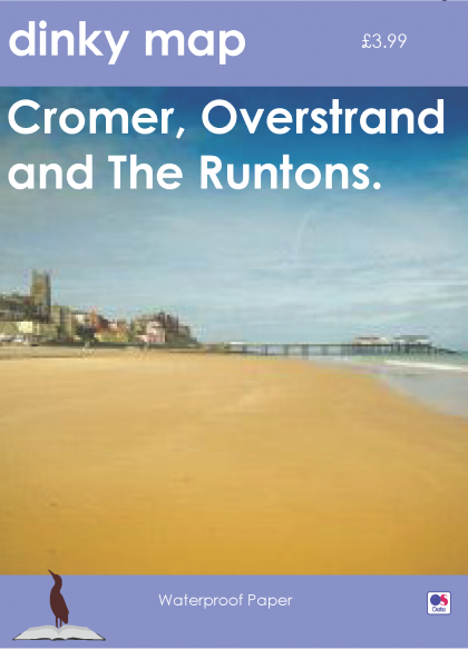 Dinky Map Cromer, Overstrand and the Runtons