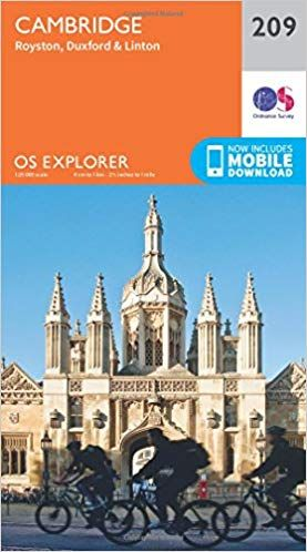 OS Explorer - 209 - Cambridge