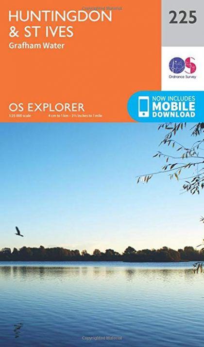 OS Explorer - 225 - Huntingdon & St Ives