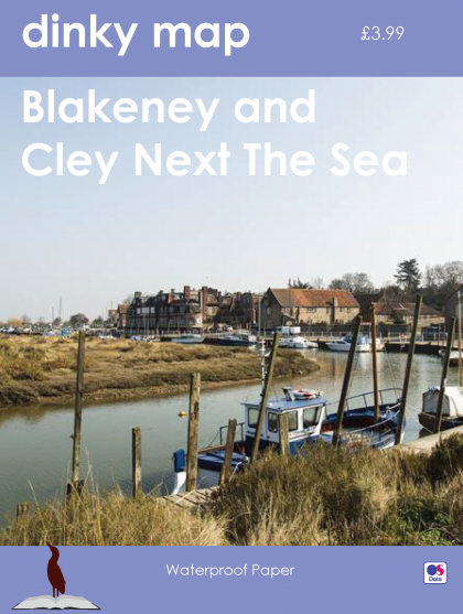 Dinky Map Blakeney and Cley next the Sea