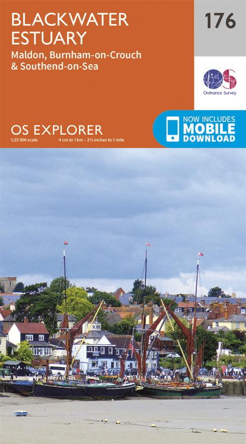 OS Explorer 176 - Blackwater Estuary