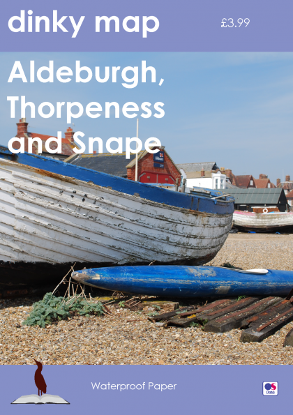 Dinky Map Aldeburgh, Thorpeness and Snape