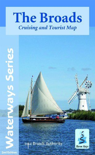 Heron Waterway Map - The Broads