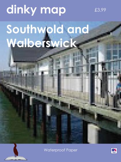 Dinky Map Southwold, Walberswick and Dunwich, Suffolk