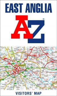 A-Z East Anglia Visitors Map